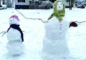 Snowmen by Amanda Jewel Foster and her daughter Kaylie Robertson